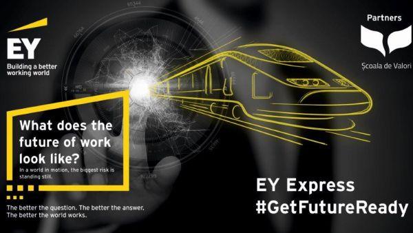 EY lanseaza programul EY Express - acceleratorul de cariera pentru piata de munca a viitorului