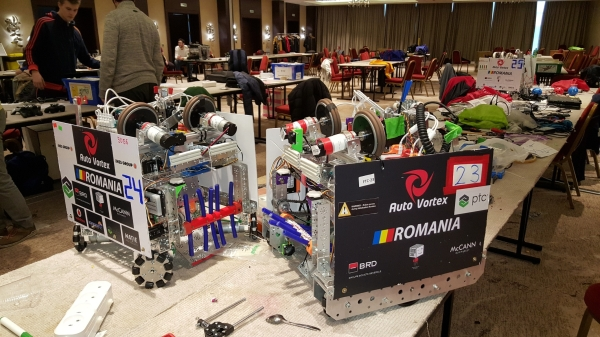 With #alittlehelp from BRD, the young Romanian robot designers have achieved an extraordinary performance at FTC Russia Open 2017