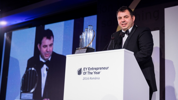 Cristian Covaciu, General Manager IPEC, is the Entrepreneur Of The Year in 2016 in Romania
