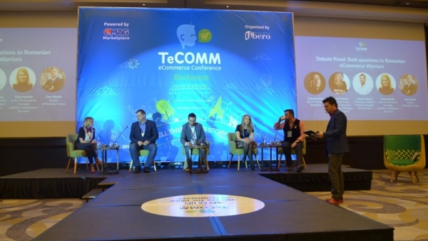Expertise of international specialists, presented at TeCOMM Bucharest. How do you stay competitive in electronic commerce?