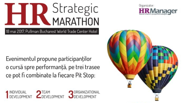 HR Strategic Marathon, 18 mai 2017, Pullman Bucharest World Trade Center Hotel