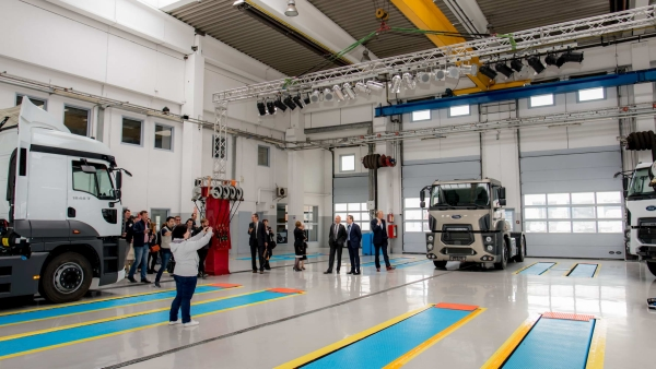 Europe's largest Ford Trucks headquarter is officially opened in Romania