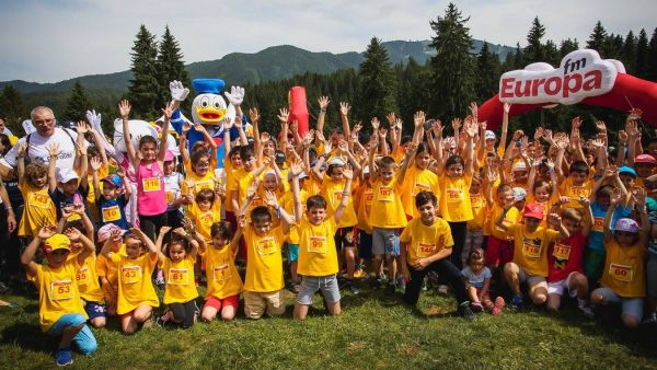 Children are celebrated at DHL Marathon Carpathian Relay with Surprises and Free Registration at Children's Cross