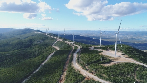 Enel starts operating the Brazilian wind farm Cristalandia