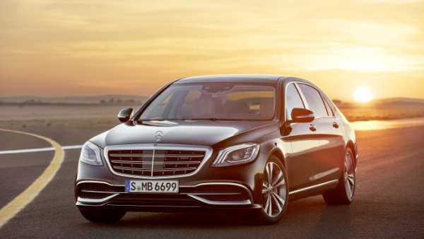 Start with sales for new S-Class models