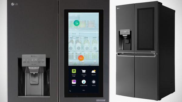 InstaView LG Door-in-Door - a new culture of the refrigerator 'touch refrigerator door and it becomes transparent'