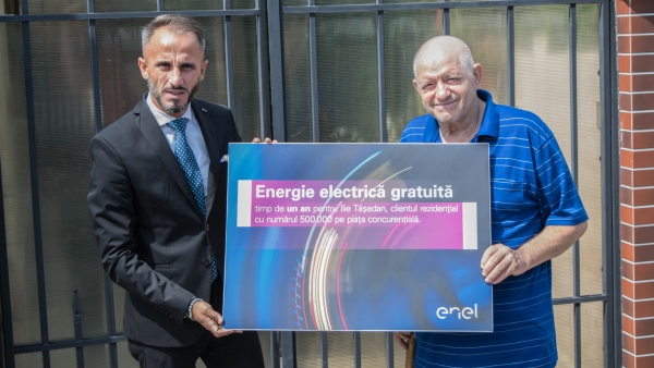 Enel has 500,000 residential customers on the competitive electricity market
