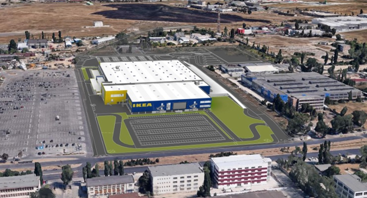 IKEA has obtained the construction authorization for the second store in Bucharest