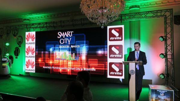 Huawei Romania castiga Premiul de Excelenta in cadrul Galei Smart City Industry Awards 2017