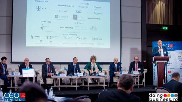 Stabilitatea si Predictibilitatea Elementele de care au nevoie liderii celor mai mari companii din Romania prezenti la 'CEO Conference – Shaping the future',  evenimentul anual de referinta pentru eli