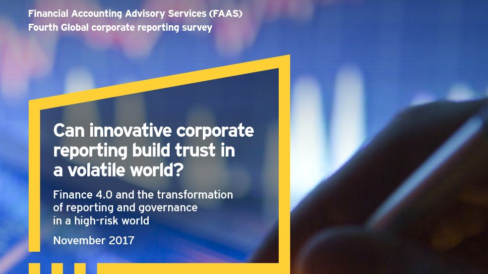 EY study: 87% of CFOs plan to increase their investments in technologies for corporate reporting in the next two years
