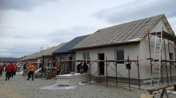 BRAVO EUROPA supported Habitat for Humanity Romania with roofs worth 40,000 euros