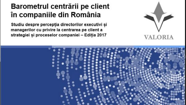 Which are the most client centric industries in Romania?