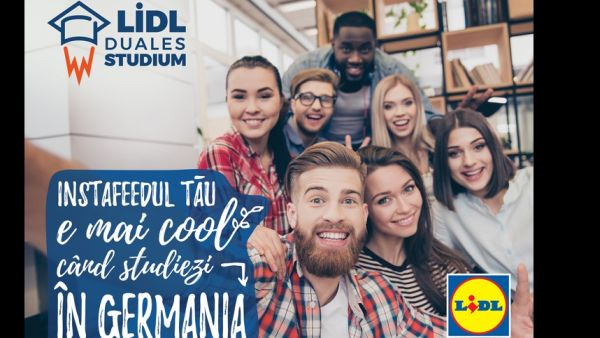 Lidl sends Romanian high school students to study in Germany
