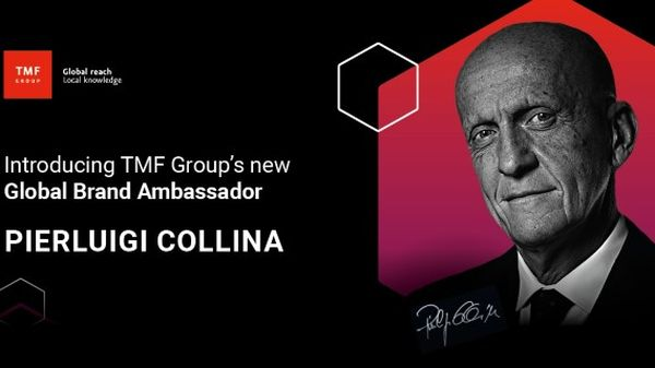 TMF Group anunta un nou Brand Ambassador la nivel global - Pierluigi Collina