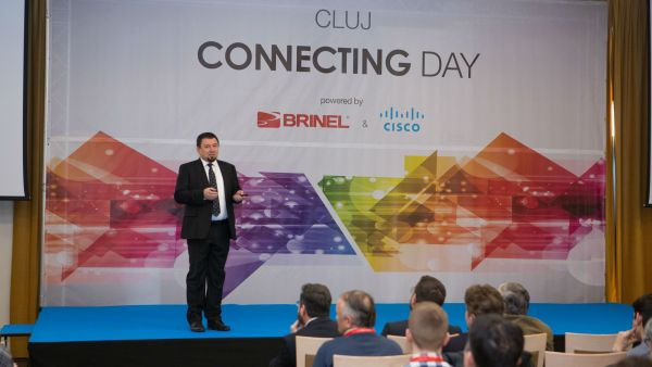 The latest solutions from Brinel and Cisco for GDPR compliance presented at Cluj Connecting Day