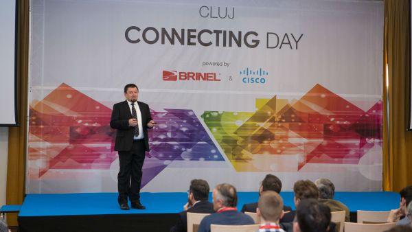 Cele mai noi solutii de la Brinel si Cisco pentru respectarea normelor GDPR prezentate la Cluj Connecting Day
