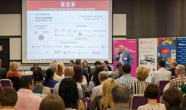 A doua editie a conferintei nationale Business (r)Evolution 2018 se va desfasura  marti, 17 aprilie, la Constanta