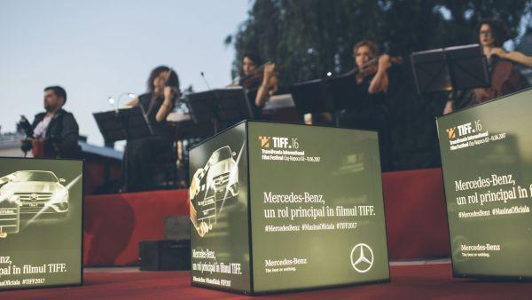 Mercedes-Benz si TIFF – de 12 ani, co-autorii unei povesti de succes in cultura cinematografica
