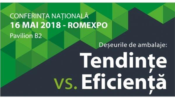 Taxa pe ambalaj, in dezbatere la conferinta anului pe teme de mediu  'Deseurile de ambalaje: tendinte vs. eficienta'