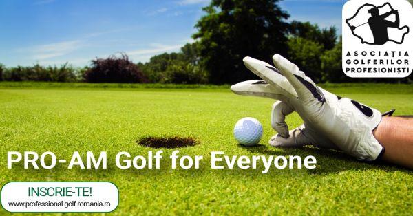 Golf pentru toti. Toti pentru golf!
