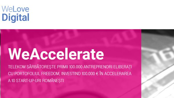 Telekom Romania celebrates the first 100,000 'liberated' entrepreneurs investing 100,000 euros in accelerating 10 Romanian start-ups