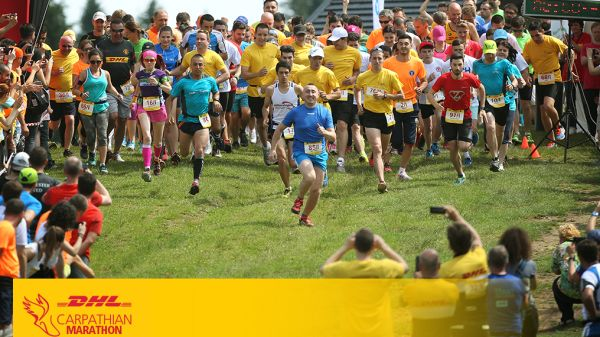 DHL Carpathian Marathon 2018 is SOLD OUT! A team of over 140 people and 5,000 hours of training to provide the runners with an unmatched experience