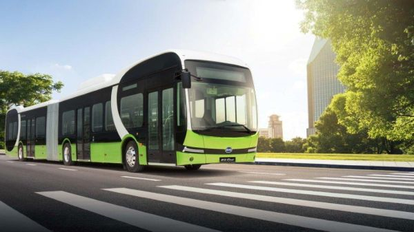 BYD Electric Busses - the future is here with SIXT Group Romania