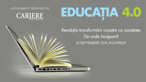 EDUCATION 4.0 - Revolution of our transformation as a society. Where do we start?