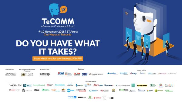 TeCOMM 2018: How to increase conversion rate by 20% in eCommerce