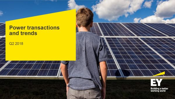 EY Study: Driven by renewable energy transactions, global energy transactions get a historical peak