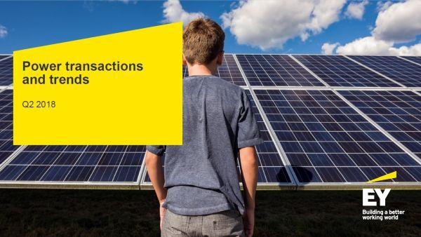 Studiu EY: Impulsionate de tranzactiile din domeniul energiilor regenerabile, tranzactiile globale din energie ating un varf istoric