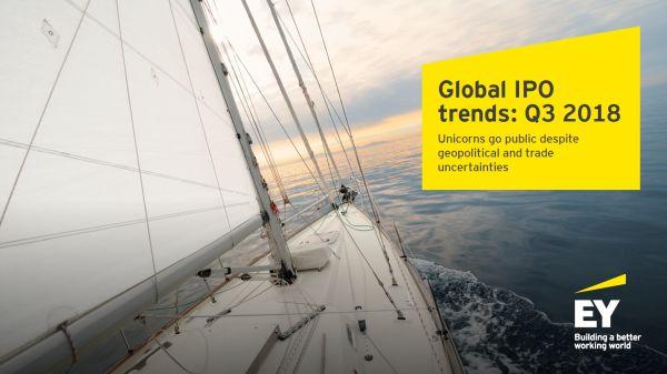 Studiu EY: Companiile unicorn aduc incredere pe piata globala de IPO, desi incetinirea activitatii continua