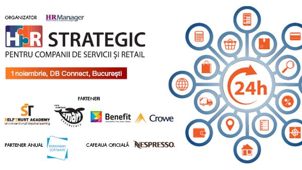 Strategic HR for Service and Retail Companies - 1st November 2018, Bucharest