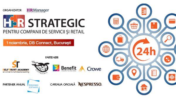HR Strategic pentru Companii de Servicii si Retail – 1 noiembrie 2018, Bucuresti