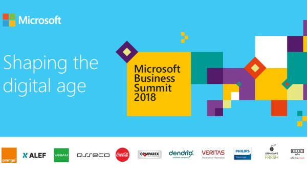 Microsoft Business Summit 2018, a conversation about the future of the business environment in Romania
