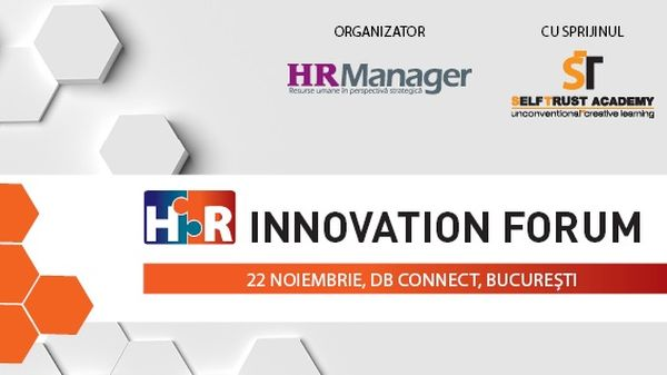 HR Innovation Forum - 22 November 2018, Bucharest