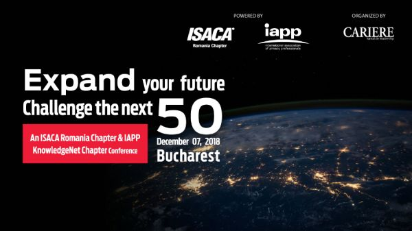Expand your future. Challenge the next 50! - 7th December 2018, Bucharest