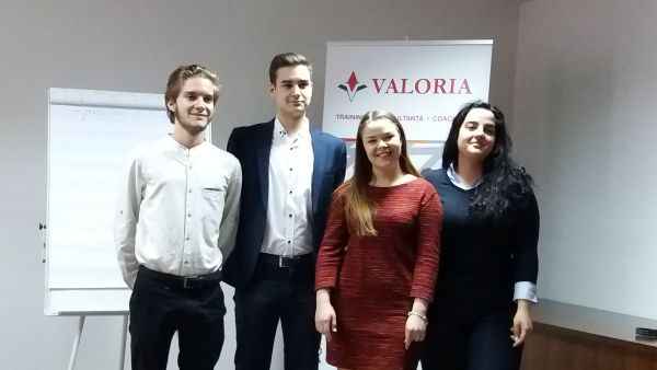 Valoria supports the development of students from the Universities from Bucharest