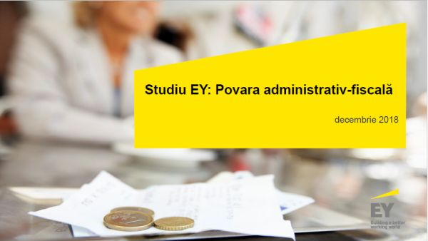 EY study: 60% of taxpayers consider that an ANAF control will impose additional payment amounts