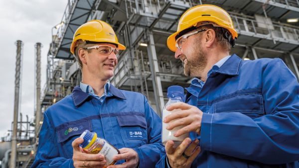 BASF produces for the first time products from chemically recycled plastics