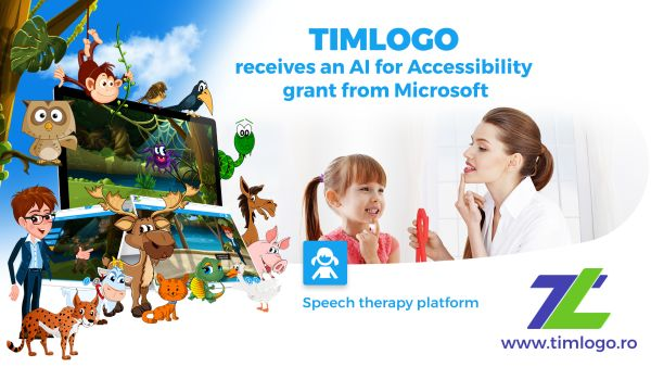 TIMLOGO.ro receives the AI ​​for Accessibility grant from Microsoft