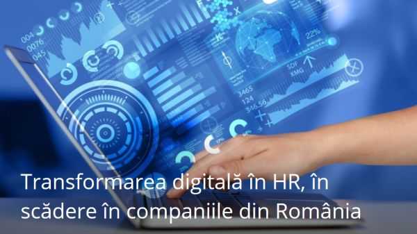 Digital transformation in HR is decreasing in Romanian companies