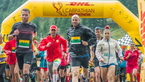 DHL Carpathian Marathon offers the chance of a 10th adventure at the 10th   anniversary edition!