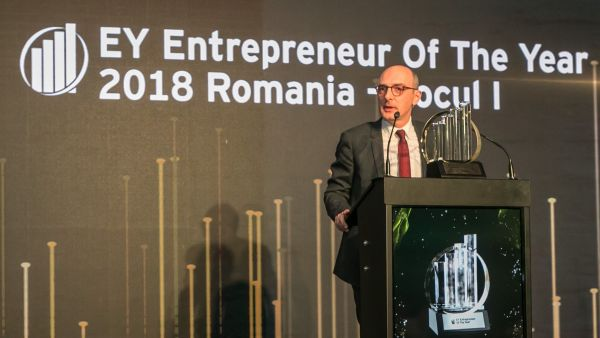 Ovidiu Sandor, CEO of Mulberry Development, is the Entrepreneur of the year 2018 in Romania