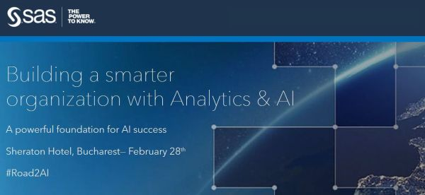 SAS Analytical Solutions: Companies using Artificial Intelligence make important savings, manage to offer customers the best service in real time and innovate more quickly