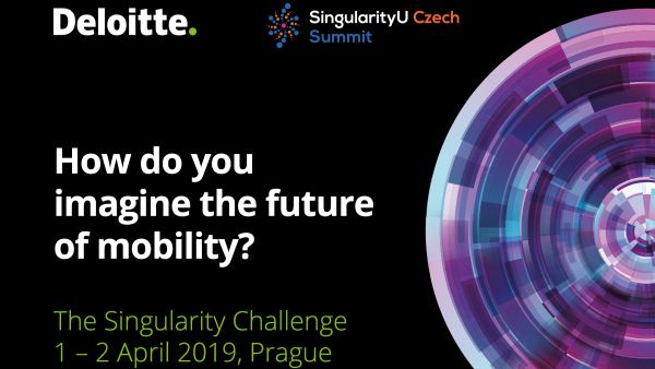 Deloitte invites students passionate about the future to the Singularity University Summit in Prague