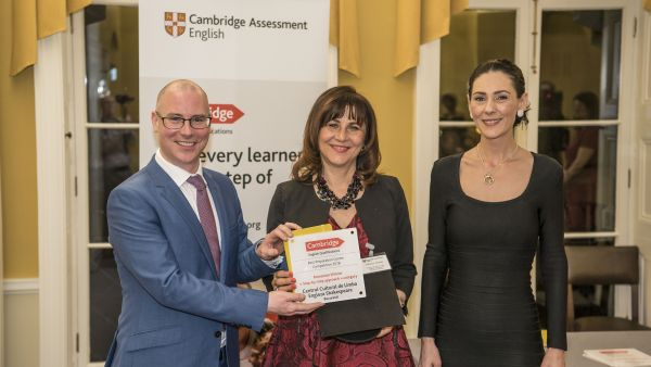 The second edition of the Preparation Center Awards organized by Cambridge Assessment English announced its first winner