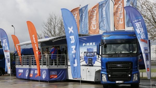 "Porti deschise pentru F-MAX,  ""International Truck of the year 2019"", in Romania"