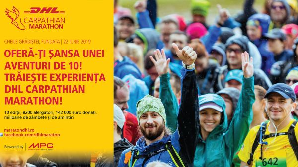 DHL Carpathian Marathon powered by MPG continues to fight for the dreams of Romanian paralympics